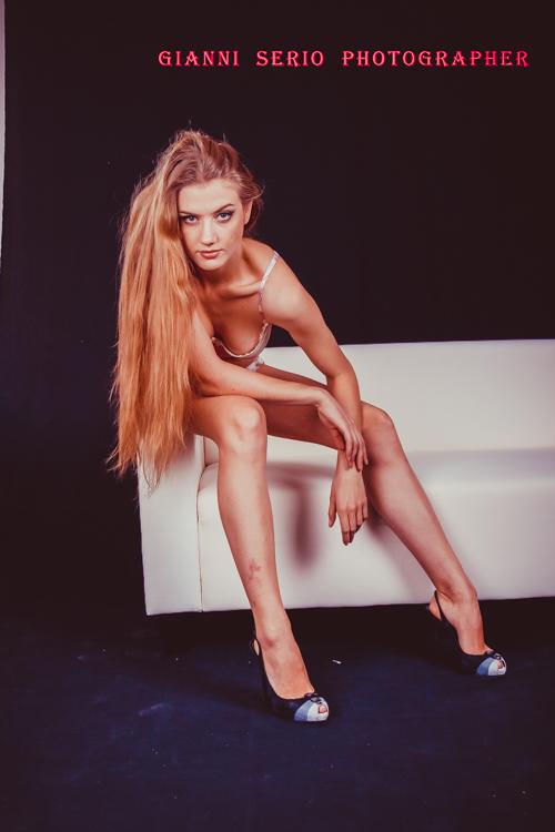 servizi fotografici per modelle in sala posa