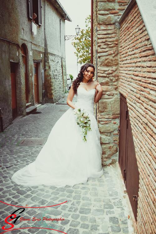 Fotografo matrimonio roma chiesa Santa Maria di Galeria
