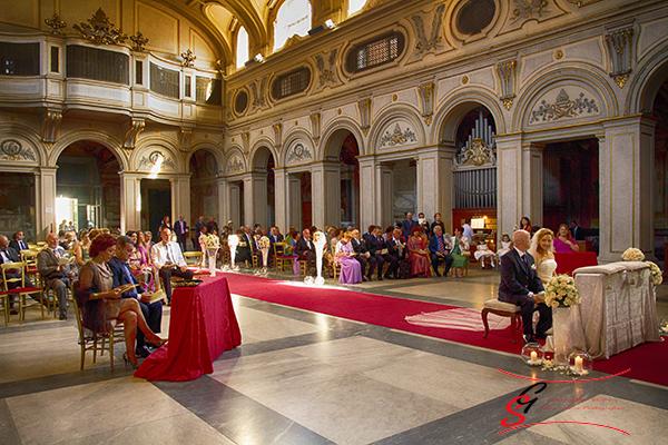 chiesa Santa Cecilia in Trastevere Fotografo di matrimonio Roma