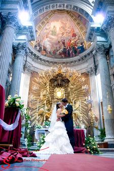 matrimonio chiesa santa maria in campitelli fotografo roma