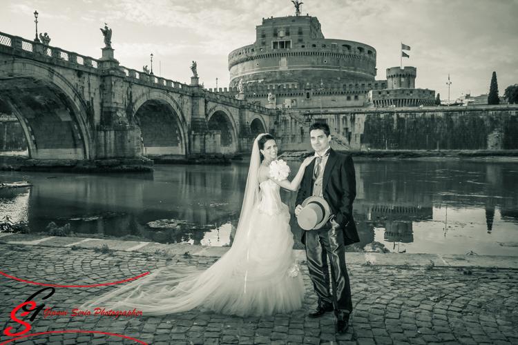 fotografo matrimonio chiesa san domenico e sisto