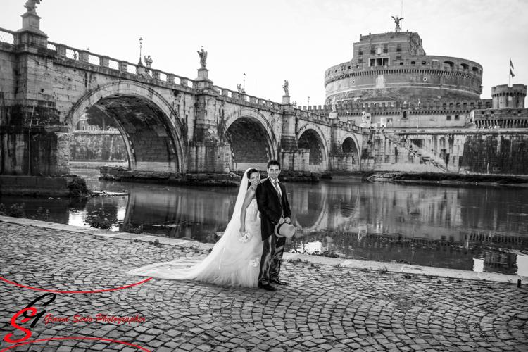 fotografo matrimonio chiesa san domenico e sisto a roma