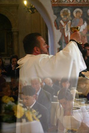 fotografo matrimonio roma chiesa san francesco a ripa