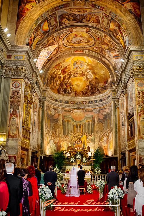 Fotografo matrimonio Chiesa di Santo Spirito in Sassia  Roma
