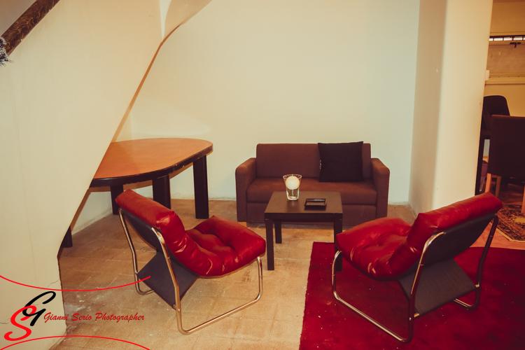 studio fotografico con sala posa
