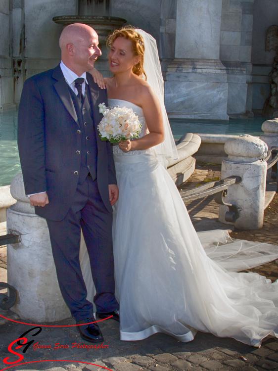 Fotografo matrimonio Chiesa Santa Cecilia in Trastevere