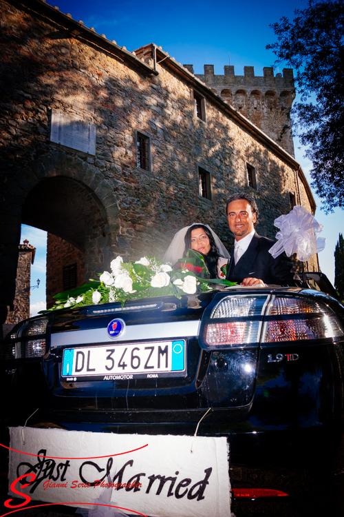 matrimonio castello di gargonza arezzo